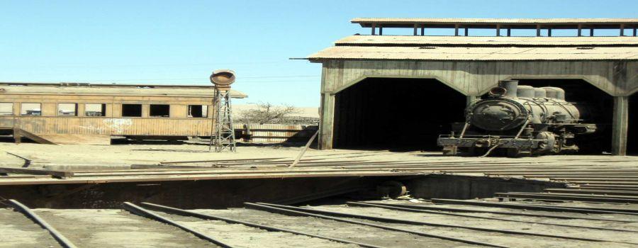 Estaci�n de Ferrocarril de Baquedano