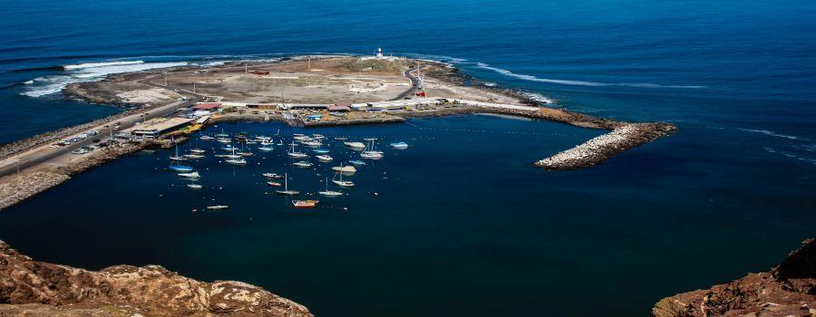 Isla del Alacran y Fortificaciones