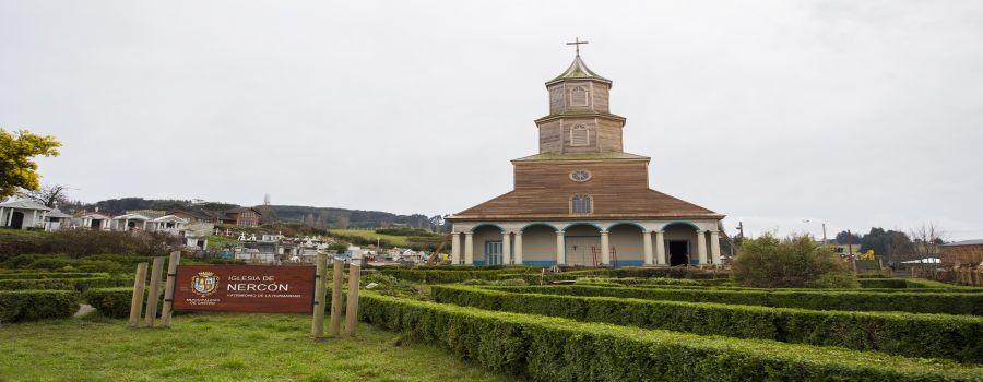 Iglesia de Nercon en Chiloe