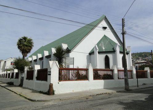 Iglesia anglicana de San Pablo en Valparaiso