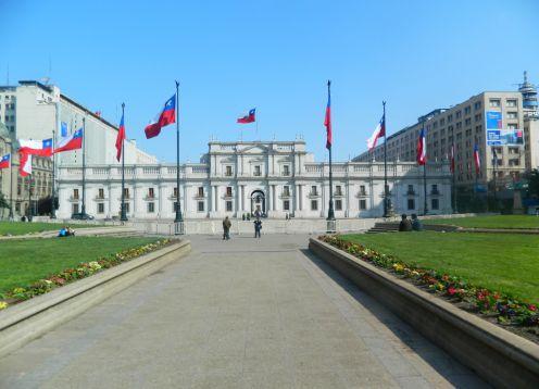 Palacio de la Moneda de Santiago de Chile