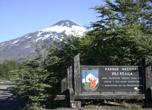 Parque Nacional Villarrica, Parques Nacionales en Pucon