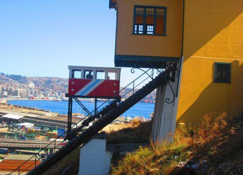 Ascensor Cerro Polanco en Valparaiso