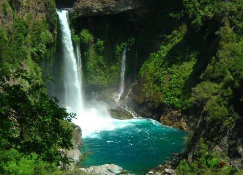 Parque Nacional Radal Siete Tazas, Parques Nacionales en Curico
