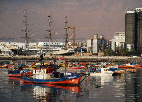 Muelle de Pasajeros del Puerto de Iquique