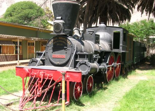 Estacion de Ferrocarriles de Copiapo