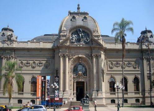 Museo Nacional de Bellas Artes, Museos en Santiago