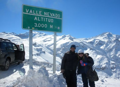TOUR VALLE NEVADO. Santiago, CHILE