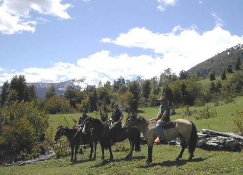 Cabalgata Mapuche. ,