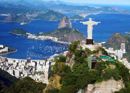 EXCURSIóN CRISTO DEL CORCOVADO EXPRESS. Rio de Janeiro, BRASIL