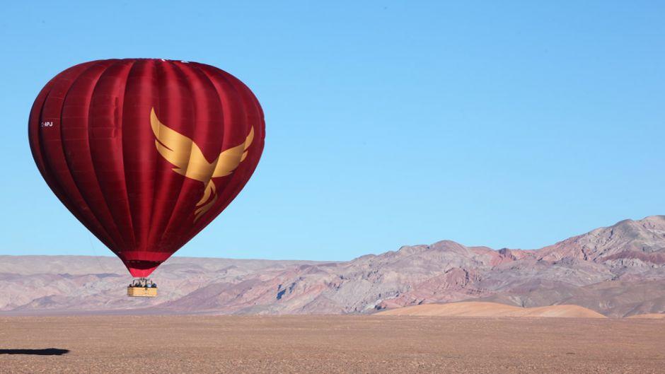 Globo Aerostático en San Pedro de Atacama