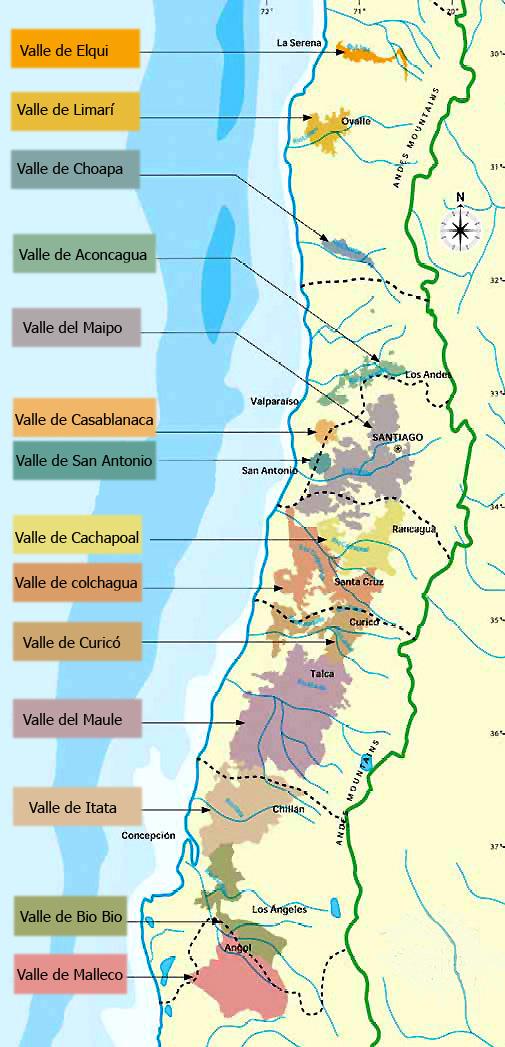 Guía De Valles Y Vinos