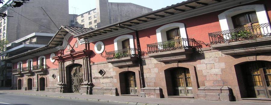 Museo de santiago casa colorada santiago de chile for Casas en chile santiago