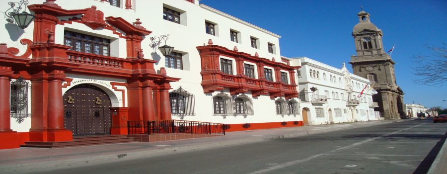 Centro historico de la serena for Casa amarilla la serena