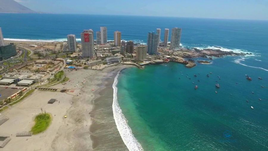 Playa Cavancha Iquique, CHILE