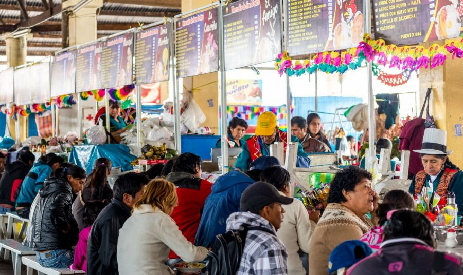 Mercado Central de Cusco Cusco, PERU