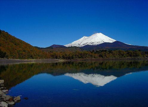 Parque nacional laguna del laja for Grabado de cristales zona sur