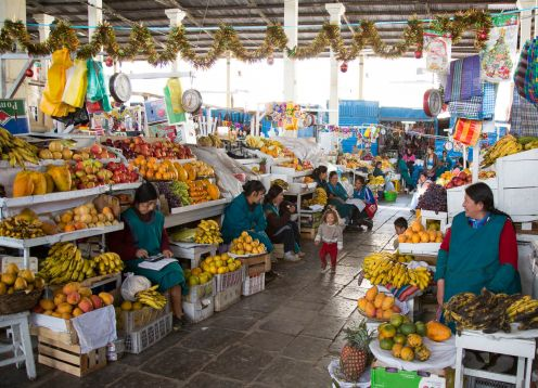 Mercado Central de Cusco,