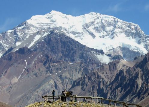 Experience in Aconcagua hill. Santiago, CHILE