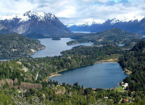 SAN MARTIN DE LOS ANDES, RUTA DE LOS 7 LAGOS. Bariloche, ARGENTINA