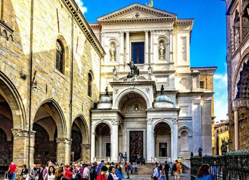 Bergamo Highlights, Private Walking Tour with Funicolare. Bergamo, ITALY