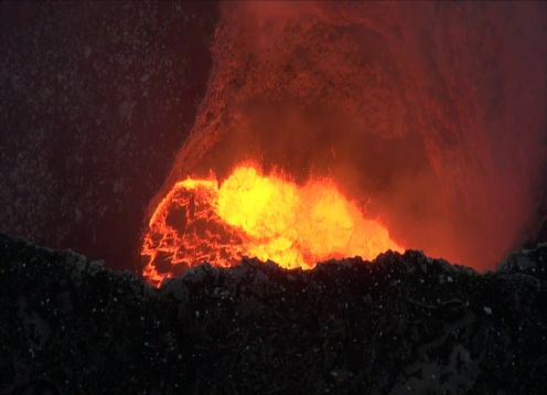 Night Tour to the Masaya Volcano. Managua, Nicaragua