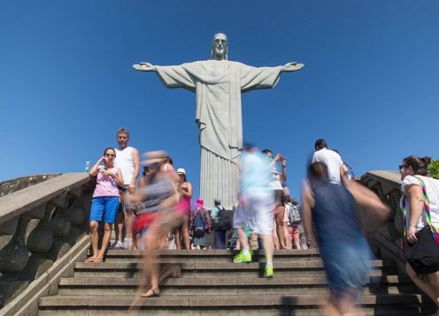 Full day tour to Sugarloaf and Christ the Redeemer with barbecue lunch. Rio de Janeiro, BRAZIL