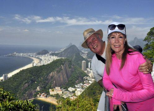 Excursão de dia inteiro no Rio de Janeiro. Rio de Janeiro, BRASIL