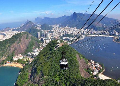 Excursion privada al monte Pan de azucar y el bosque de Tijuca. R�o de Janeiro, BRASIL
