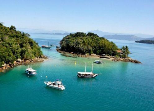 Viagem de um dia a Angra dos Reis e Ilha Grande saindo do Rio. Rio de Janeiro, BRASIL