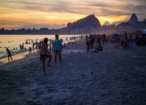 Discover the best sunset in Rio de Janeiro. Rio de Janeiro, BRAZIL