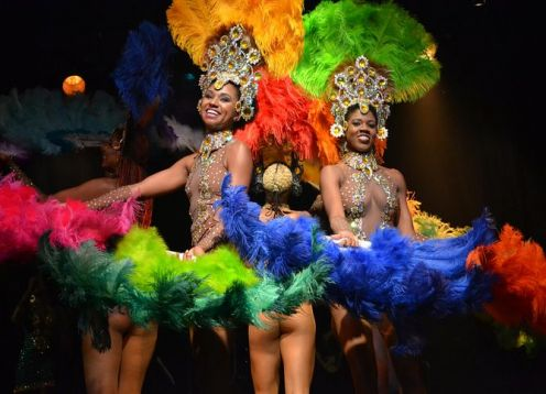 Show de ginga tropical no Rio de Janeiro. Rio de Janeiro, BRASIL