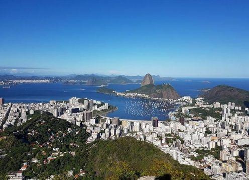 Recorrido por el jardín botánico en Río de Janeiro. Rio de Janeiro, BRASIL