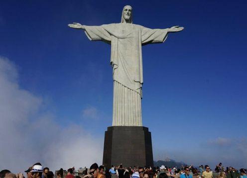 Rio de Janeiro on a one-day city tour, with lunch included. Rio de Janeiro, BRAZIL