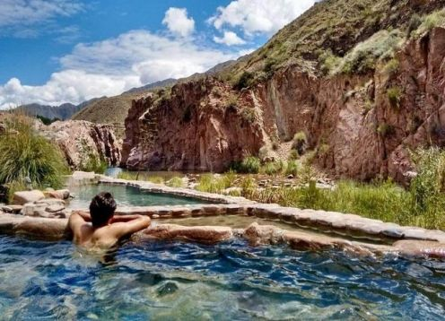Spa day in Termas de Cacheuta with transfers from Mendoza. Mendoza, ARGENTINA