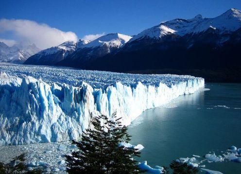 Geleira Perito Moreno, incluindo barco Safari. El Calafate, ARGENTINA