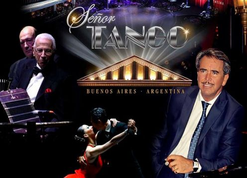 Dinner and show at Se�or Tango. Buenos Aires, ARGENTINA