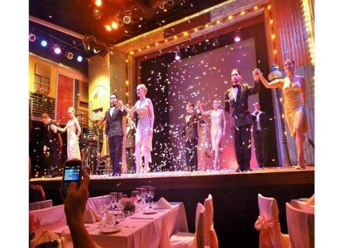Dinner and show at Madero Tango. Buenos Aires, ARGENTINA
