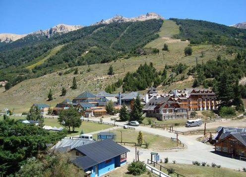 Tourist visit to Cerro Catedral. Bariloche, ARGENTINA