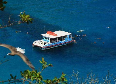 Nade en la Bahia Sancho saliendo de Fernando de Noronha. Fernando de Noronha, BRASIL