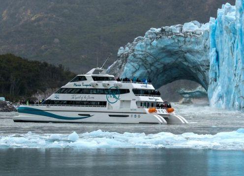 Crucero de día completo por los glaciares a bordo del Maria Turquesa . El Calafate, ARGENTINA
