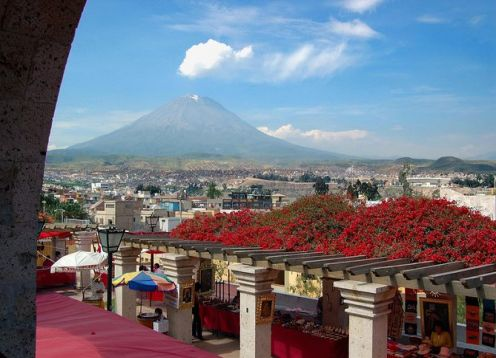 Private tour of Arequipa, with Museum of the Mummy Juanita, Monastery of Santa Catalina and the colonial neighborhoods. Arequipa, PERU
