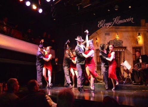 Espectaculo de tango en El Viejo Almacen con cena opcional en Buenos Aires. Buenos Aires, ARGENTINA