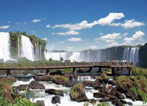 3-day tour of the Iguazu Falls National Park. Foz de Iguazu, BRAZIL