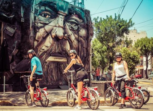 Experience street art, parks and Soho. Buenos Aires, ARGENTINA