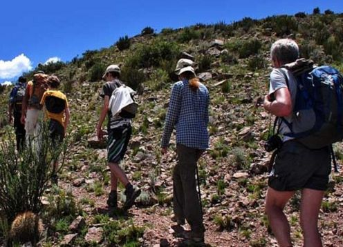 Hiking and rappelling to Quebrada del Salto from Mendoza. Mendoza, ARGENTINA