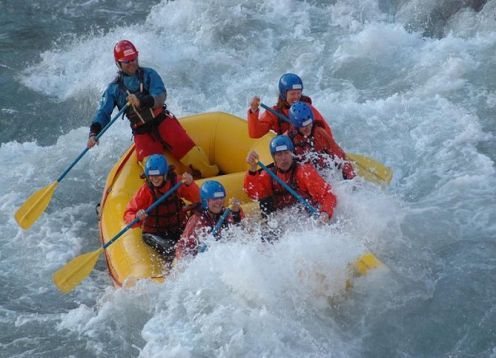 Rafting on the Mendoza River. Mendoza, ARGENTINA
