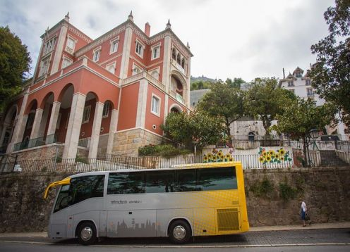 Half-day tour to Pena, Sintra and Cascais Palace from Lisbon. Lisbon, PORTUGAL