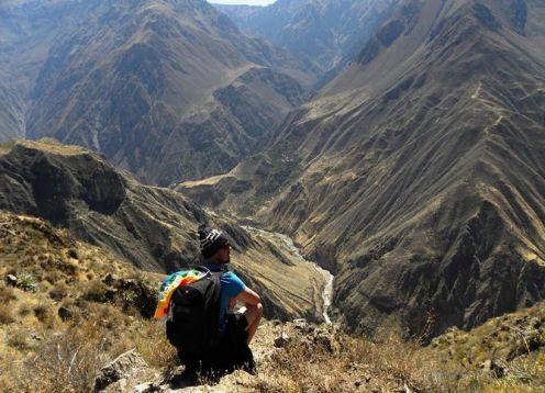 Trekking to the Colca Canyon. 3 days - 2 nights. Arequipa, PERU