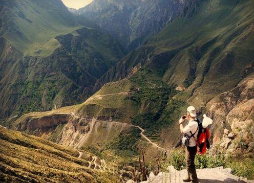 Caminhada de 3 dias até o Colca Canyon saindo de Arequipa. Arequipa, PERU